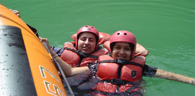 Sunil river rafting at Rishikesh