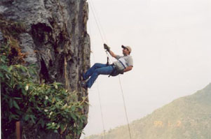 Sunil Mountain Rappelling, Mussoorie, India